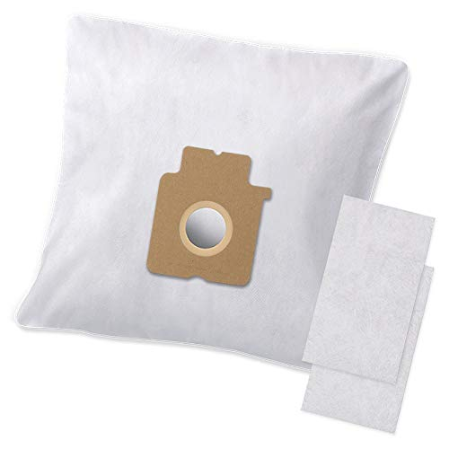 10 Premium Staubsaugerbeutel + 2 Filter kompatibel zu Swirl PC87 Filtertüten - Bestleistung beim Saugen