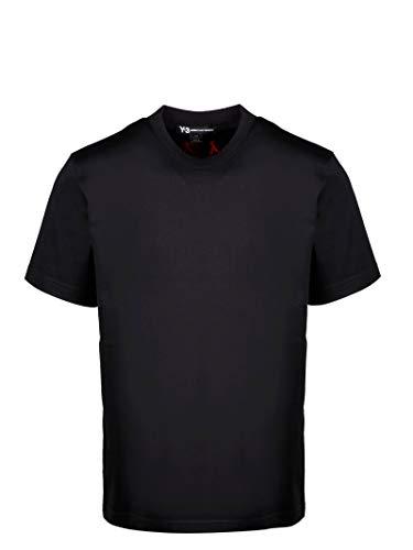 Yohji Yamamoto Luxury Fashion Herren FS3371 Schwarz T-Shirt  