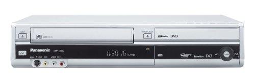 Panasonic DMR-EZ49VEGS DVD-/VHS-Rekorder (DVB-T, HDMI, Upscaler 1080p, DivX-zertifiziert) silber