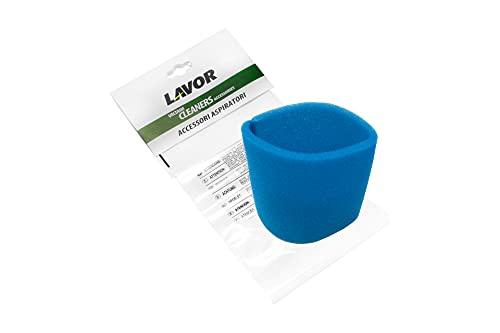 LAVOR Filtro in Spugna per Aspiratori per Swimmy, GNX, GBP, GB 50 XE, GN, Genio, per Aspirare i Liquidi