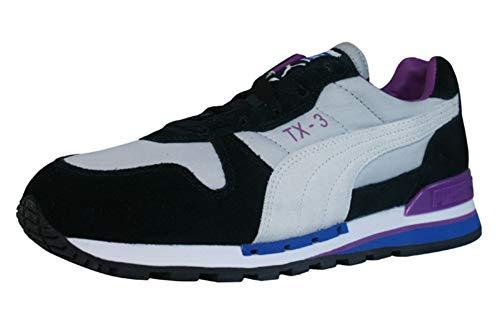 Puma TX-3 Sneaker Nero Grigio / Viola, Grigio (Grigio), 37 1/3 EU