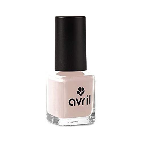 AVRIL - Vegan Nagellacke ohne Chemikalien - Beige Rosa N°655 - Einfache Anwendung, Nicht an Tieren Getestet - 7ml