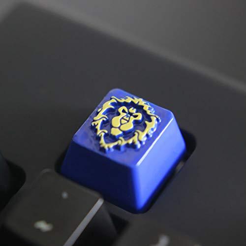 Mugen Alliance Custom World of Warcraft Gaming Keycaps für Cherry MX Switches – passend für die meisten mechanischen Tastaturen – mit Keycap Puller