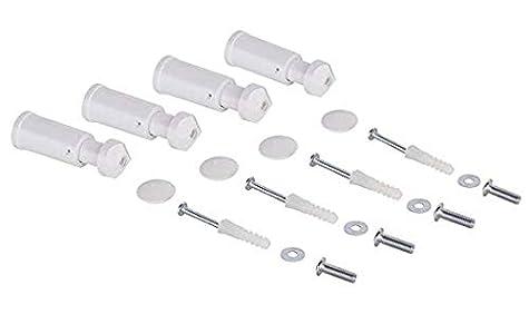 Kit soporte toallero Blanco