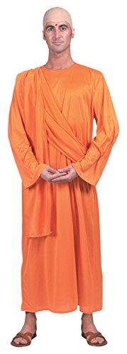 Bristol Novelty ac835Hare Krishna disfraz (UK pecho tamaño 42–44-inch)