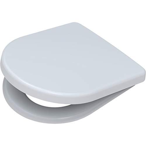 WC-Sitz für ROCA NEXO | mit SoftClose Absenkautomatik | TakeOff Edelstahlscharnier abnehmbar | weiß