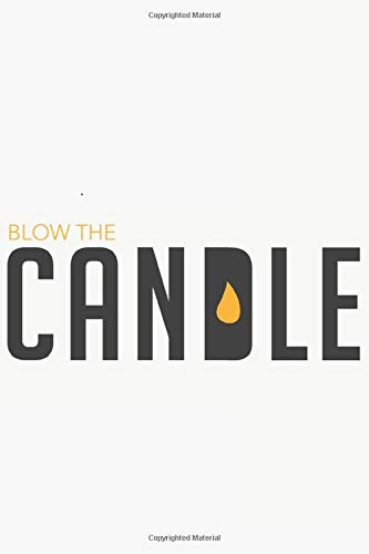 Blow the candle: Blow the candle : Schulplaner  Jahr 2020 -2021 zum Planen & Organisieren - Notizbuch / Notebook / Journal / Taschenbuch Geschenk (6 x ... de notas, Blocco note Calendrier Calendario