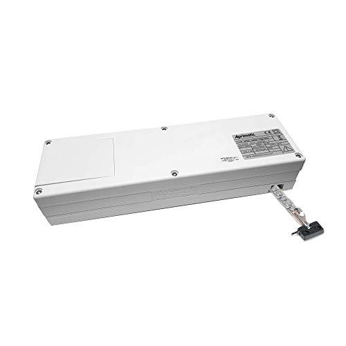 Aprimatic - Apricolor Varia - Actuador Lineal - Motor Electrico Para Accionar Puertas Eléctricas Ventanas Automáticas - 230v - 24v - Blanco