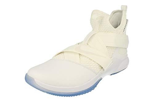 Nike Men's Lebron Soldier XII SFG Fitness Shoes, White (White/White/White 101), 11 UK