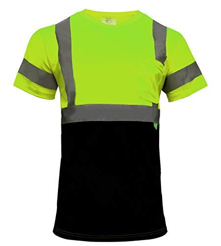New York Hi-Viz Workwear BFS8512 High-Visibility Class 3 T Shirt with...