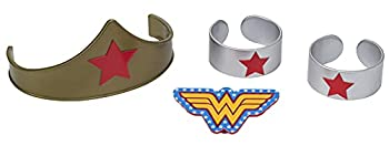 DecoPac 7222 Wonder Woman Strength and Power Cake Toppers 3  count of 4