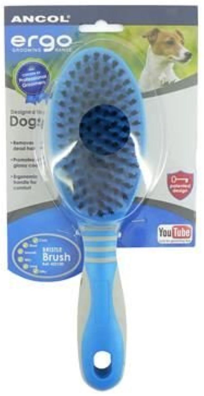 (3 Pack) Ancol  Ergo Deluxe Handle Bristle Brush