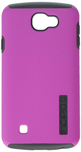Incipio Cell Phone Case for LG K4/Optimus Zone 3/Spree - Retail Packaging - Pink/Gray