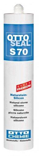 OttoSeal S70, dass Premium-Naturstein-Silicon, 310ml Farbe: C10 BAHAMABEIGE