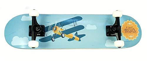 Kinder Skateboard Airplane von Little Boards, 6.5 Inch