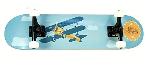 Kinder Skateboard Airplane von Little Boards, 6.5 Inch