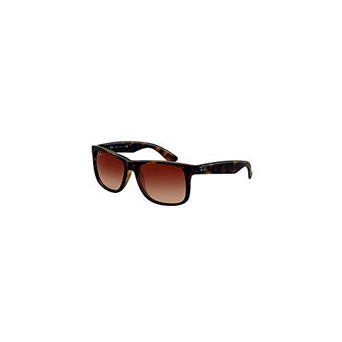 New Ray Ban Justin Sunglasses RB4165 Tortoise 710/13 55mm Brown Gradient UV Lens