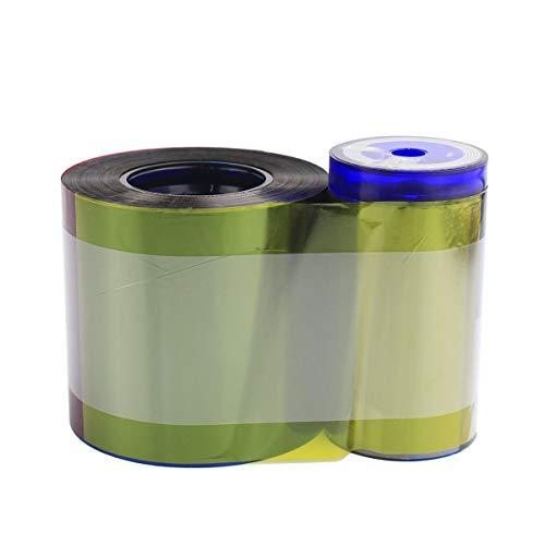 ZUYE Farbband 534000-003 YMCKT für Datacard SP35 SP55 SP75 Plus Kartendrucker mit Reinigungskit