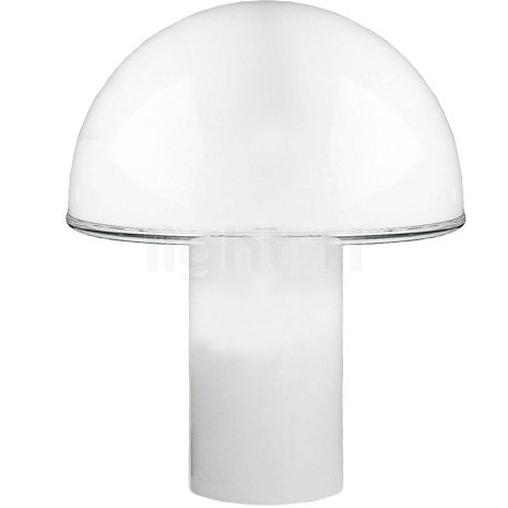 Artemide - Onfale Tavolo Grande - Opalglas weiß
