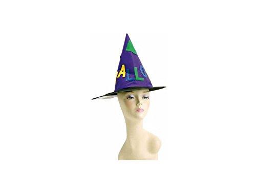 JUGUETILANDIA Sombrero Bruja Halloween