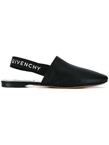 Givenchy Luxury Fashion Damen BE2003E01H008 Schwarz Leder Mokassins | Frühling Sommer 20