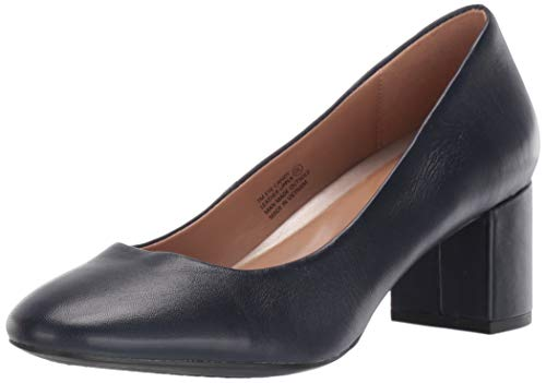 Aerosoles Women's Eye Candy Pump, Navy Leather, 10 M US