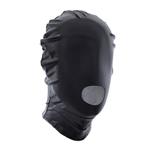 Máscara de Halloween Cosplay Cuero Elástico Rojo Negro