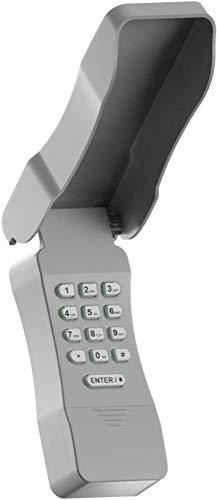 Universal Garage Door Keypad, Keyless Entry Compatible Chamberlain/LiftMaster etc Major Brands Garage Door Opener, Safe & Secure Access, Control Up 2 Doors.
