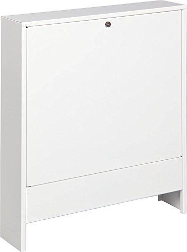 Distribuidor de armario AP-1 visto para 2-4 termotransmisores círculos