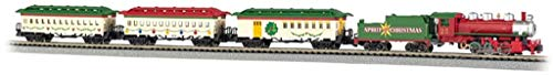 Bachmann Trains - Spirit Of Christmas Ready To Run Electric Train Set - N Scale