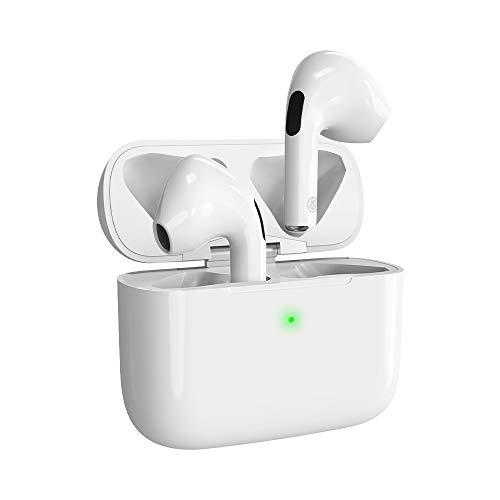 Bluetooth Kopfhörer, Sport-Headset,In-Ear Kabellose Kopfhörer,3D-Stereo-Rauschunterdrückung Kopfhörer,mit 35H Ladekästchen und Integriertem Mikrofon Auto-Pairing für iPhone/Android/Apple/AirPods Pro