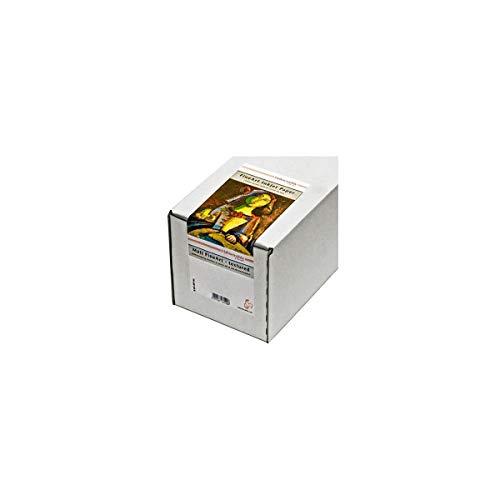 Hahnemühle 10643118 Digital FineArt Torchon Papier, 285 g/m², 24 Zoll Rolle, 610 mm x 12 m, hellweiß
