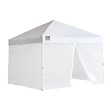 Quik Shade 10'x10' Instant Canopy Screen Panel with Zipper Entry – Canopy Frame and Cover SOLD SEPARATELY