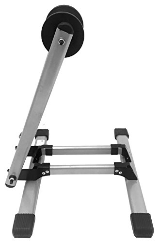 MaxxHaul 80717 Foldable Floor Bike Stand Fits 20'-29' Sports Bicycles