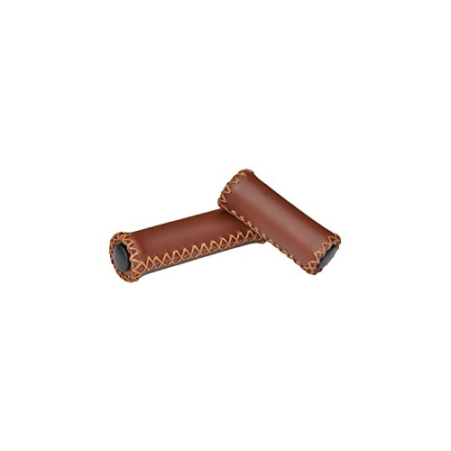 Firmstrong 7-Speed Handlebar Grips, Brown