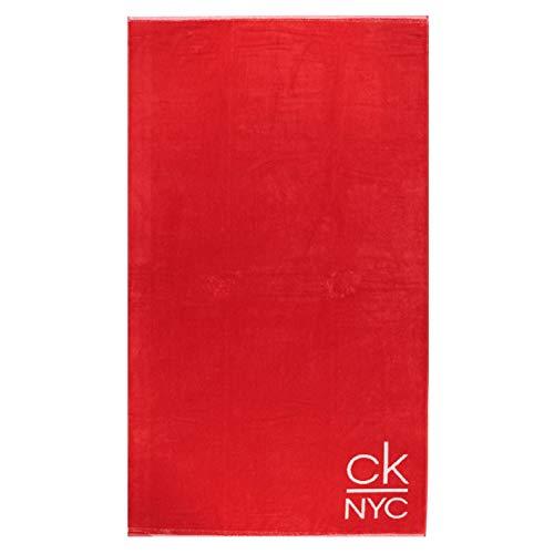 Calvin Klein - Toalla de Playa (Red)