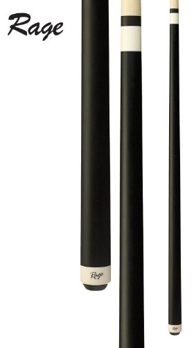 25oz Rage Heavy Hitter Jump Break Cue, Black