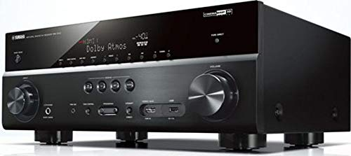Yamaha TSR-7810 7.2-Channel 4K Ultra HD Network AV Receiver; 7.2-channel Surround Sound with Dolby Atmos and DTS:X; Fully Loaded with Wi-Fi, Bluetooth, AirPlay and Spotify Connect