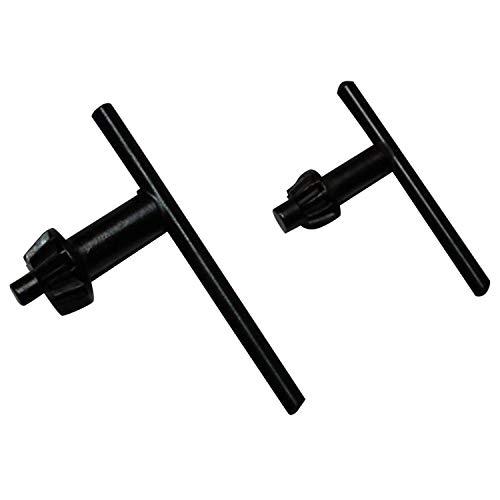 KINZO Bohrfutterschlüssel SET,2x Bohr Futter Maschinen Schlüssel 13 + 10mm Kranz