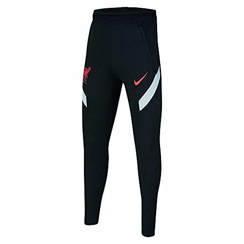 Nike Pantalones LFC Y NK Dry STRKE KP CL, Negro/gris lobo/crim láser, extra-large