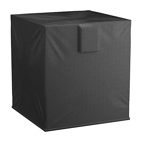 sfadf Copertura invernale AC – Copertura quadrata per condizionatore d'aria – Copertura per condizionatore esterno – resistente impermeabile AC con tessuto Oxford resistente protezione per balconi AC