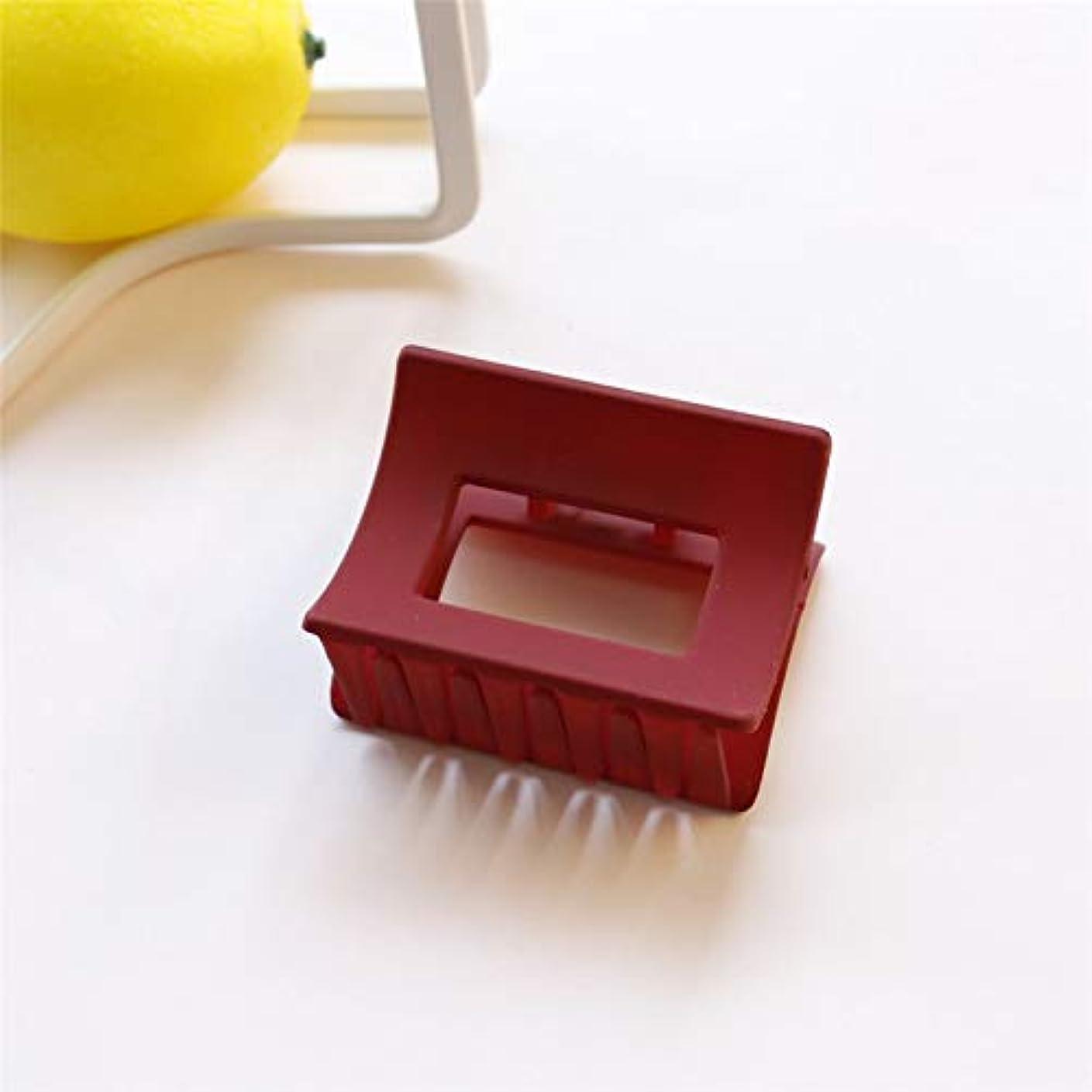 忙しい聞く鋭くHuaQingPiJu-JP 1Pc DIYマジックヘアレディースガールヘアピンハイクリップパーティーヘアスタイリングツールアクセサリー(レッド)