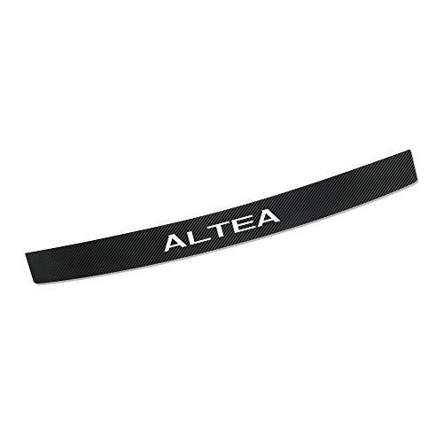 Car Rear Bumper Protectors For Altea, Carbon Fiber Auto Trunk Guard Plate Strips, Anti-Scratch Auto Threshold Guard Stickers Trim Styling Accessories