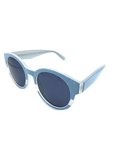 MR WONDERFUL MW 29009 567 49,gafa sol mujer,montura en azul celeste fantasía,lentes en gris.