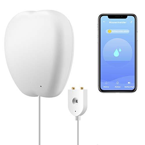 JINQII WIFI Smart Detector de fugas de agua Sensor Inteligente Inundación Inicio Sensor DIY Remoto Alarma Tuya/Smart Life APP Push Recordatorio