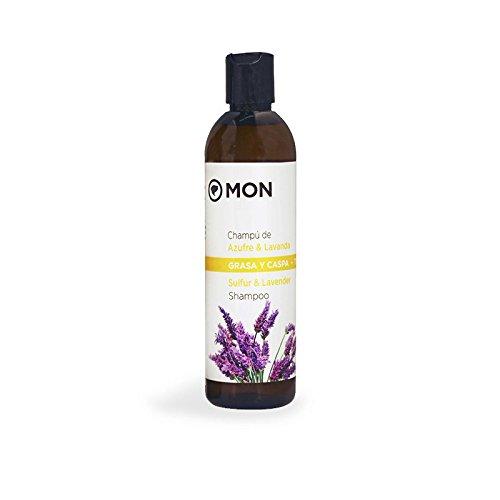 Mon Deconatur Shampoo voor zwavel en lavendel, vettig haar en roos - 300 ml