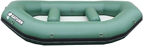SATURN 9.6 ft Inflatable Whitewater Mini Raft - Green