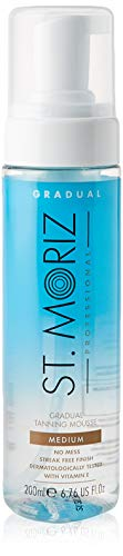 St. Moriz Selbstbräunungs-Mousse Clear Gradual Medium, 200 Ml