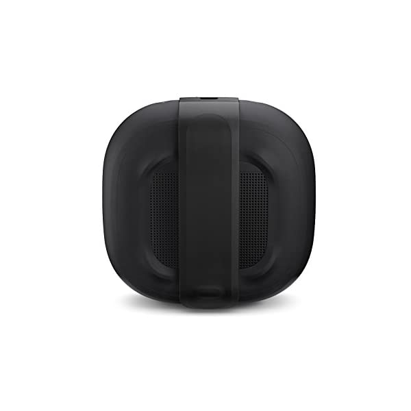 bose soundlink micro waterproof bluetooth speaker (black) with amazon basics case (black)