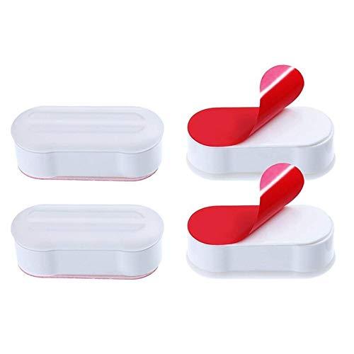 Beste Kwaliteit - Toilet Plungers - Toiletbril Cover Huishoudelijke merchandises Badkamer Producten zelfklevende Pakking Set van Vier Thuis Tuin - door Rocco - 1 PC's Ivory - China